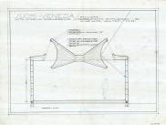 Venetsian paviljonki (Alvar Aalto 1956). (c) Piirustuskokoelma / Alvar Aalto -museo. Finnish Pavilion in Venice Biennale (Alvar Aalto 1956). (c) Drawings collection / Alvar Aalto Museum