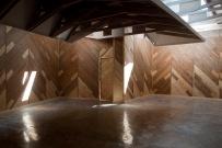 Finnish Pavilion in Venice´s biennale park. Interior after the renovation. Photo: (c) Ugo Carmeni 2012.