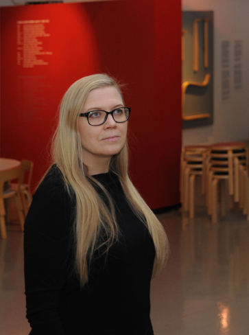 Elena Näsänen. Photo: Maija Holma / Alvar Aalto Museum.
